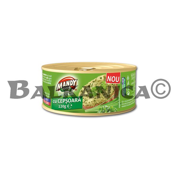 120 G PATE VEGETABLE ONION MANDY