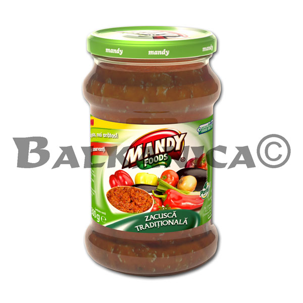 300 GR ZACUSCA SAUCE TRADITIONAL MANDY