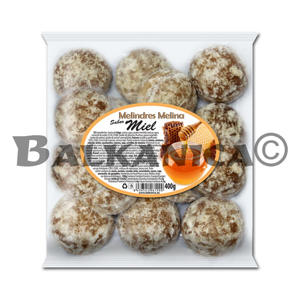 400 G COOKIES WITH HONEY FLAVOR MELINA