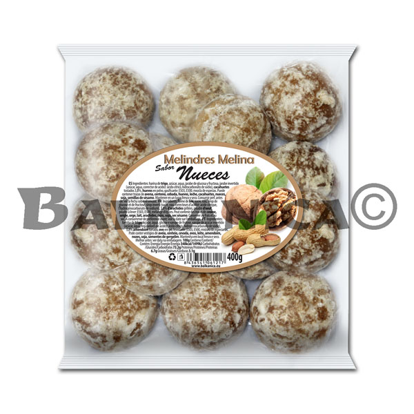 400 G COOKIES WITH NUTS MELINA