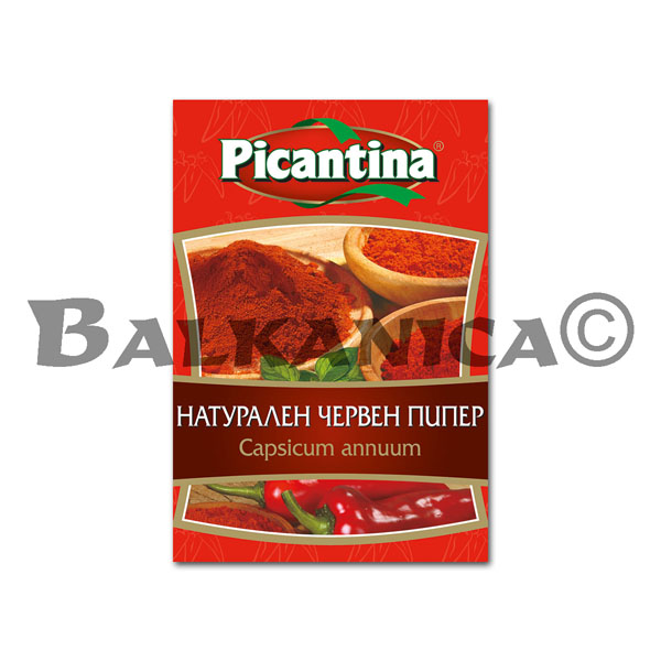 50 G RED PEPPER NATURAL PICANTINA