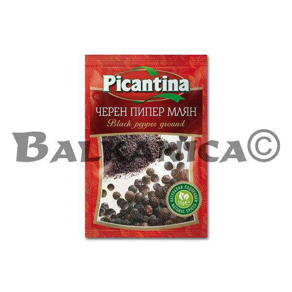 10 G BLACK PEPPER GROUD PICANTINA