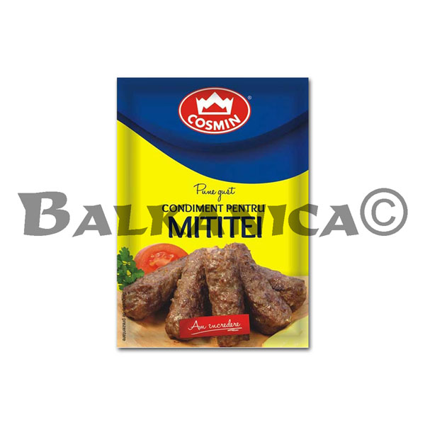 20 G SPICE FOR SAUSAGE WITHOUT SKIN (MICI) COSMIN