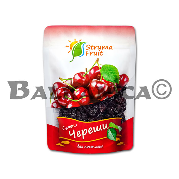 100 G BLACK CHERRIES DRIED STRUMA FRUIT