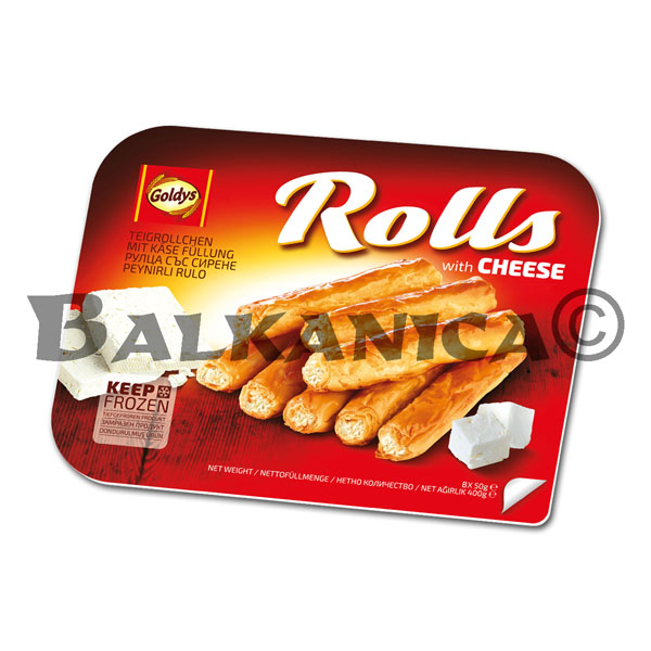 400 G SMALL BANITSA CHEESE ROLLS GOLDYS