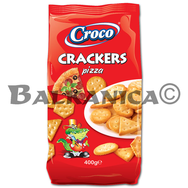 400 G CRACKERS PIZZA CROCO
