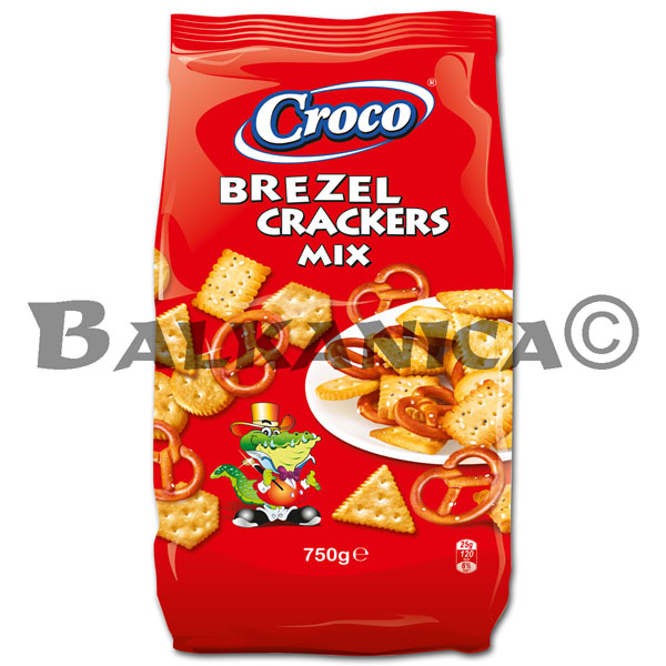 750 G CRACKERS CORN STICKS MIX CROCO