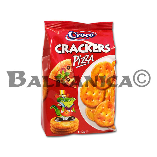 150 G CRACKERS PIZZA TOP CROCO