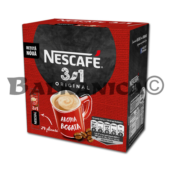 16.5 GR NESCAFE ORIGINAL 3 IN 1