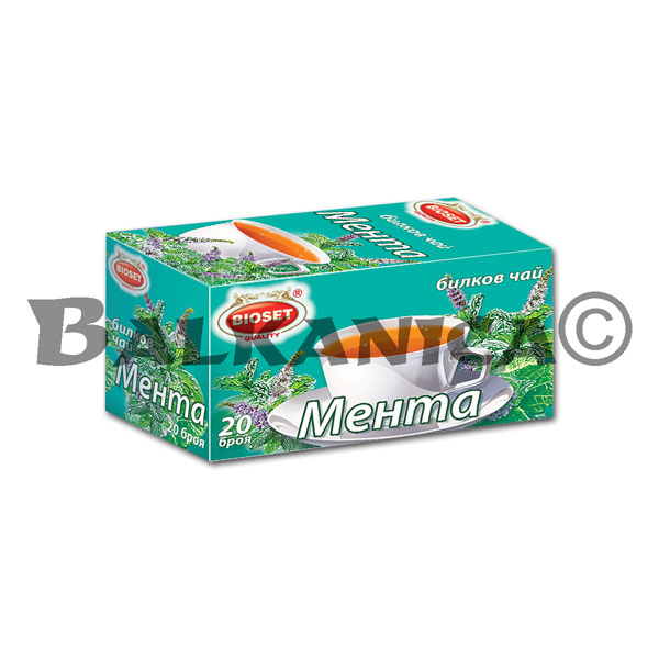 30 G TEA MINT BIOSET