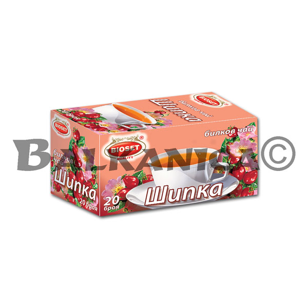 40 G TEA ROSE HIP BIOSET