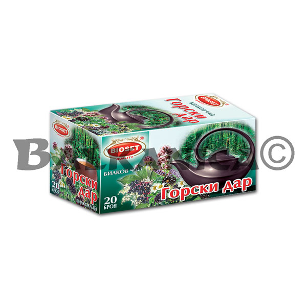 30 G TEA FOREST GIFT BIOSET